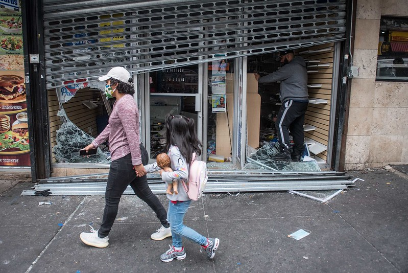 How Widespread Was Violence On New York S Nights Of Unrest